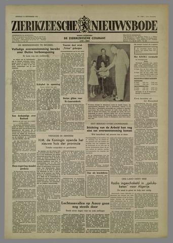 Zierikzeesche Nieuwsbode 1954-09-14