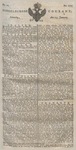Middelburgsche Courant 1777-01-25