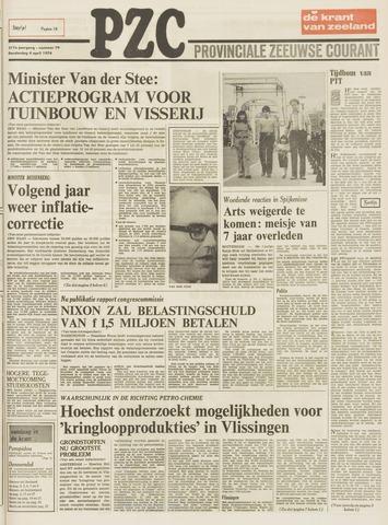 Provinciale Zeeuwse Courant 1974-04-04