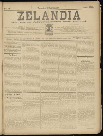 Zelandia. Nieuws-en advertentieblad voor Zeeland | edities: Het Land van Hulst en De Vier Ambachten 1902-09-06