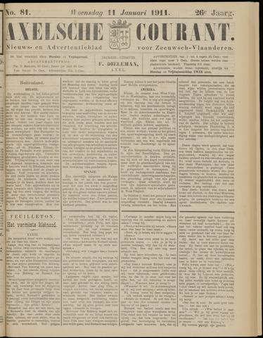 Axelsche Courant 1911-01-11