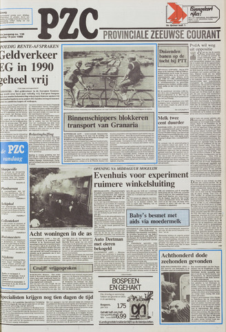 Provinciale Zeeuwse Courant 1988-06-14