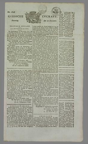 Goessche Courant 1826-11-20