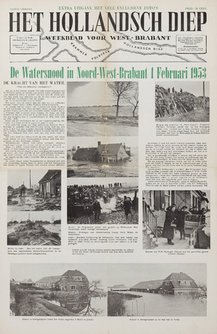 Watersnood documentatie 1953 - kranten 1953-01-01