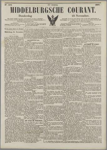 Middelburgsche Courant 1897-11-25
