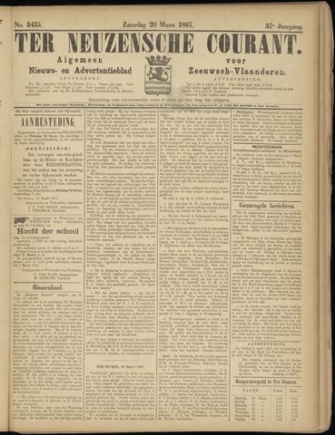 Ter Neuzensche Courant. Algemeen Nieuws- en Advertentieblad voor Zeeuwsch-Vlaanderen / Neuzensche Courant ... (idem) / (Algemeen) nieuws en advertentieblad voor Zeeuwsch-Vlaanderen 1897-03-20