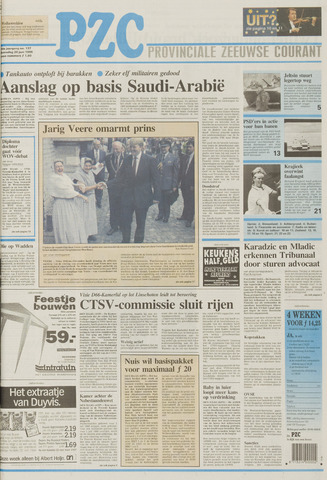 Provinciale Zeeuwse Courant 1996-06-26