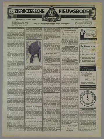 Zierikzeesche Nieuwsbode 1940-03-22
