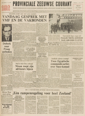 Provinciale Zeeuwse Courant 1970-06-01