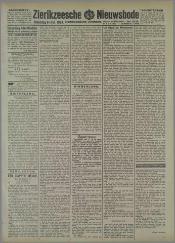 Zierikzeesche Nieuwsbode 1933-02-06