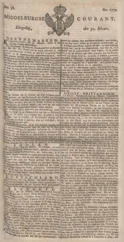 Middelburgsche Courant 1779-03-30