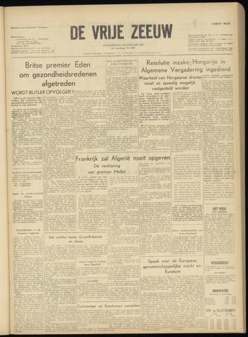 de Vrije Zeeuw 1957-01-10