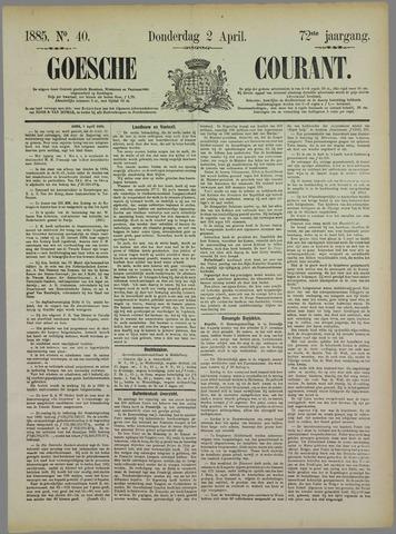 Goessche Courant 1885-04-02