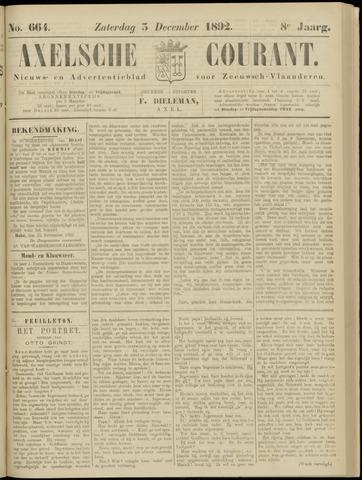 Axelsche Courant 1892-12-03