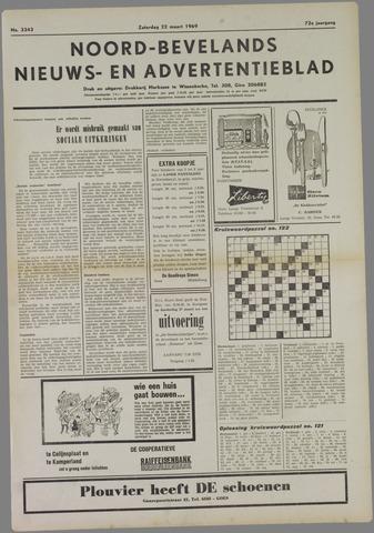 Noord-Bevelands Nieuws- en advertentieblad 1969-03-22