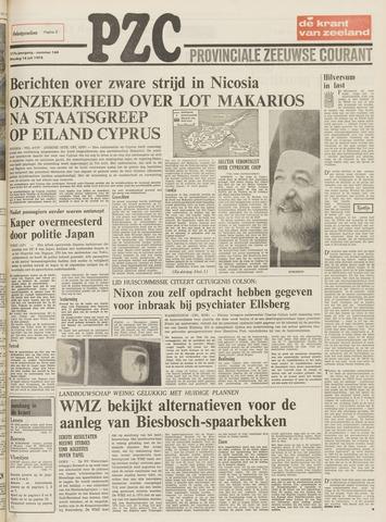 Provinciale Zeeuwse Courant 1974-07-16