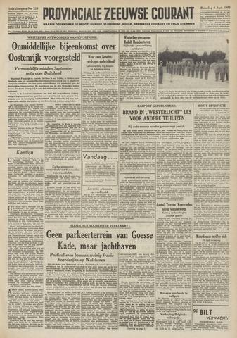 Provinciale Zeeuwse Courant 1952-09-06
