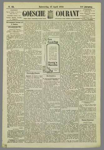 Goessche Courant 1924-04-12