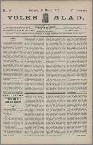 Volksblad 1922-03-11