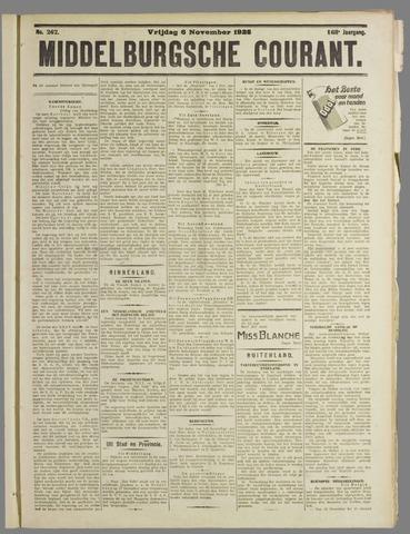 Middelburgsche Courant 1925-11-06