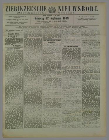 Zierikzeesche Nieuwsbode 1903-09-12