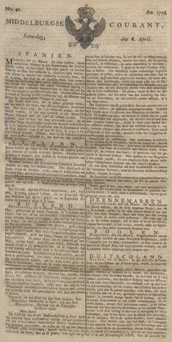 Middelburgsche Courant 1776-04-06