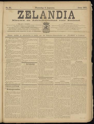 Zelandia. Nieuws-en advertentieblad voor Zeeland | edities: Het Land van Hulst en De Vier Ambachten 1902-08-06