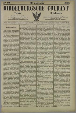 Middelburgsche Courant 1888-02-03