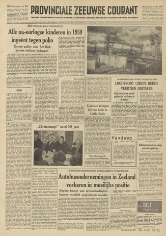 Provinciale Zeeuwse Courant 1957-10-03