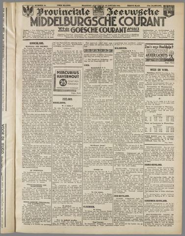 Middelburgsche Courant 1933-01-23