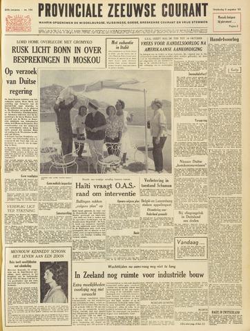 Provinciale Zeeuwse Courant 1963-08-08