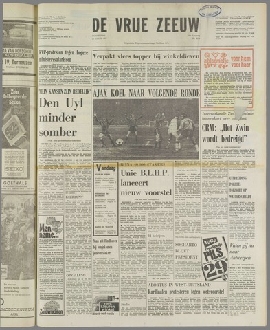 de Vrije Zeeuw 1973-03-22
