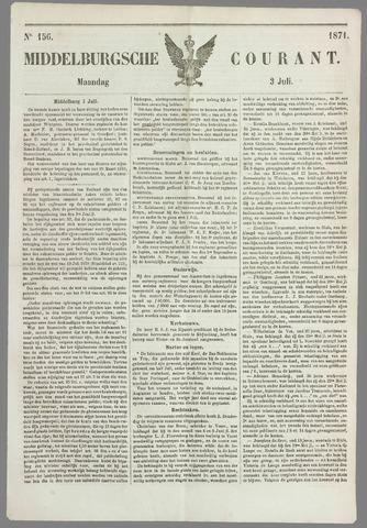 Middelburgsche Courant 1871-07-03
