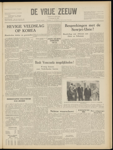 de Vrije Zeeuw 1952-06-13