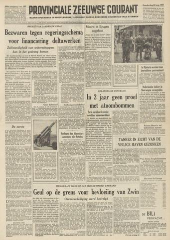 Provinciale Zeeuwse Courant 1957-08-22