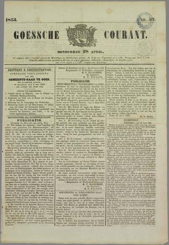 Goessche Courant 1853-04-28