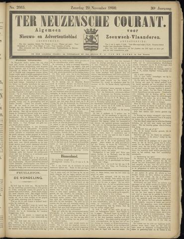 Ter Neuzensche Courant. Algemeen Nieuws- en Advertentieblad voor Zeeuwsch-Vlaanderen / Neuzensche Courant ... (idem) / (Algemeen) nieuws en advertentieblad voor Zeeuwsch-Vlaanderen 1890-11-29