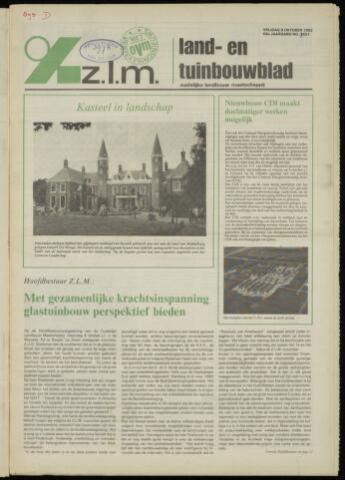 Zeeuwsch landbouwblad ... ZLM land- en tuinbouwblad 1982-10-08