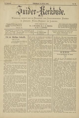 Zuider Kerkbode, Weekblad gewijd aan de belangen der gereformeerde kerken in Zeeland, Noord-Brabant en Limburg. 1897-07-09