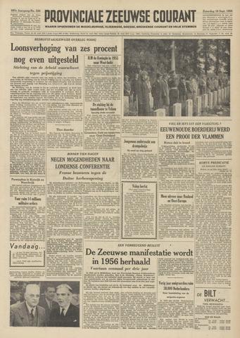 Provinciale Zeeuwse Courant 1954-09-18