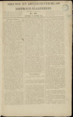 Ter Neuzensche Courant. Algemeen Nieuws- en Advertentieblad voor Zeeuwsch-Vlaanderen / Neuzensche Courant ... (idem) / (Algemeen) nieuws en advertentieblad voor Zeeuwsch-Vlaanderen 1855-01-24