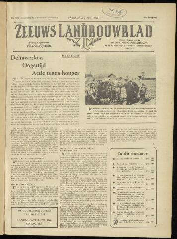 Zeeuwsch landbouwblad ... ZLM land- en tuinbouwblad 1960-07-02