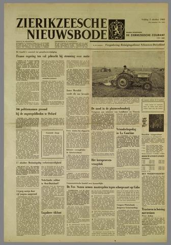 Zierikzeesche Nieuwsbode 1962-10-05