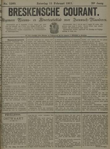 Breskensche Courant 1911-02-11