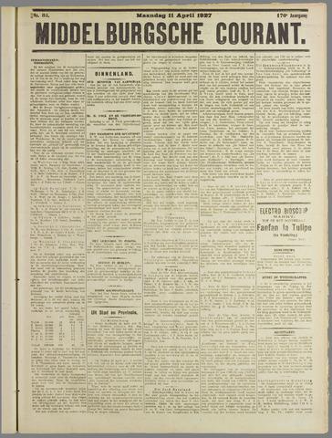 Middelburgsche Courant 1927-04-11