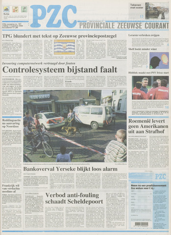 Provinciale Zeeuwse Courant 2002-08-02