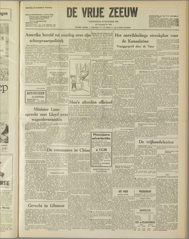 de Vrije Zeeuw 1958-12-18