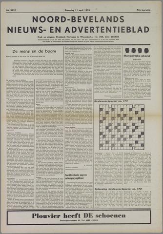 Noord-Bevelands Nieuws- en advertentieblad 1970-04-11