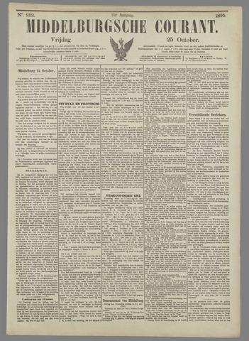 Middelburgsche Courant 1895-10-25