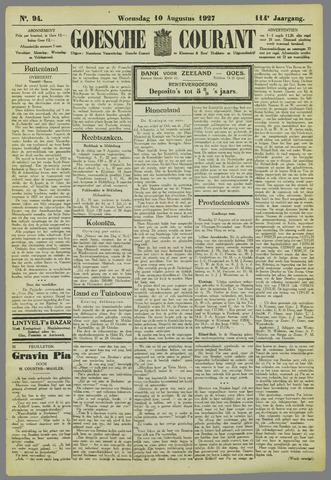 Goessche Courant 1927-08-10